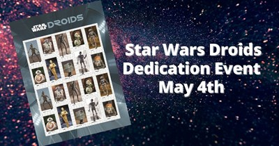 Star Wars Droids Commemorative Dedication Ceremony, May 4th
