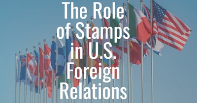 APS Stamp Chat: The Role of Stamps in U.S. Foreign Relations with Matin Modarressi