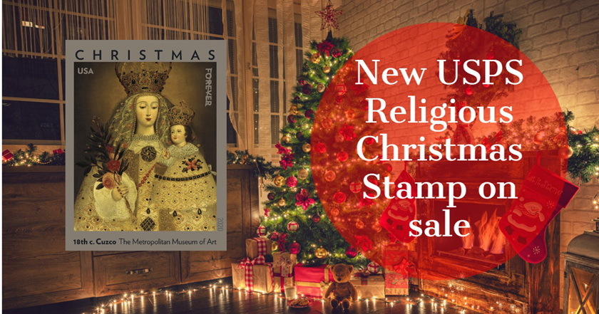 Holiday 2020: New USPS Religious Christmas Stamp on sale