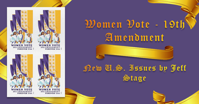 Women Vote - 19th Amendment - As Summer Fades, a Deluge of New Issues Part 4