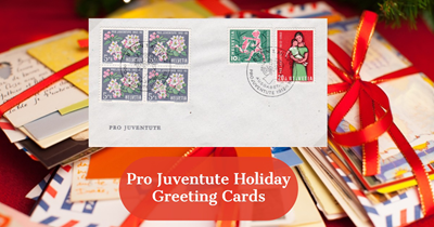 Pro Juventute Holiday Greeting Cards