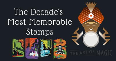 The Decade's Most Memorable Stamps
