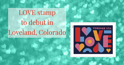 LOVE stamp to debut in Loveland, Colorado