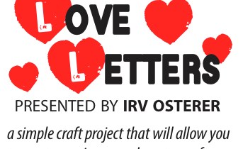 Love Letters: A Live Valentine's Craft-Along with Irv Osterer