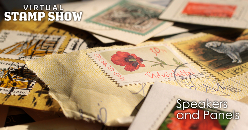 Featured Speakers confirmed for Virtual Stamp Show