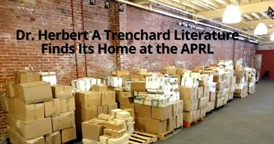 Dr. Herbert A. Trenchard Literature Finds Its Home at the APRL