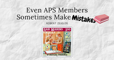 Even APS Members Sometimes Make Mistakes