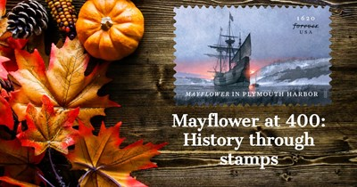 Mayflower at 400: History Through Stamps