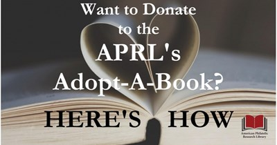"Adopt-A-Book with the APRL: A ""How To"""