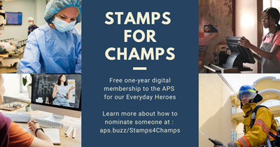Stamps for Champs: A Free Gift for the Everyday Heroes of COVID-19