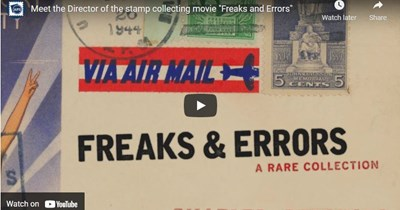 "Stamp Collecting Movie ""Freaks and Errors"" & Upcoming EFO Course!"