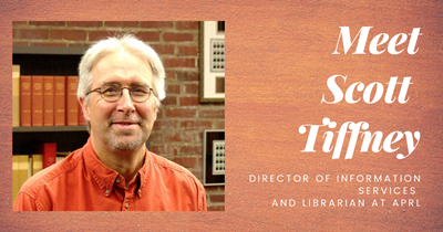 Meet Scott Tiffney, Director of Information Services - APS Cares