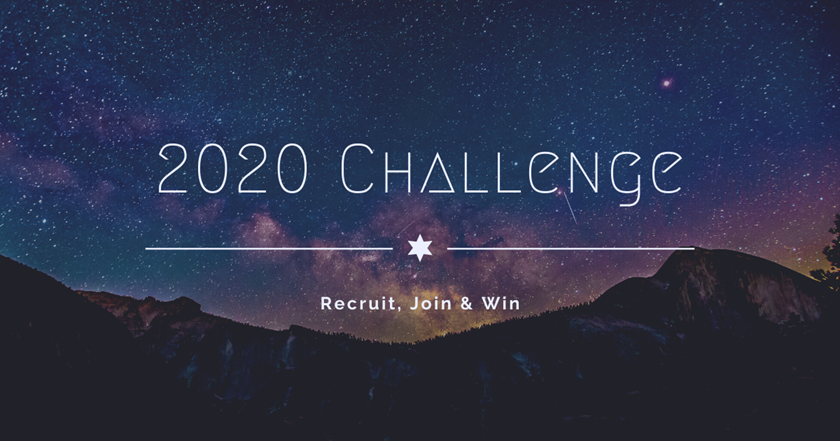 2020 Challenge: Recruit, Join, Win a Free Life Membership