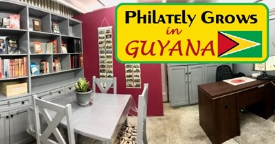 APRL Assists the First Philatelic Library in Guyana!