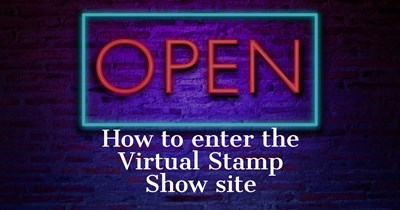 How to enter the Virtual Stamp Show site