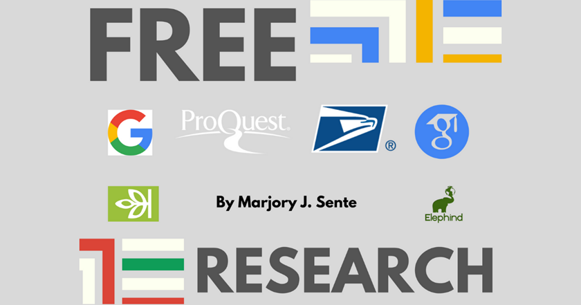 Resources for Free or Nearly Free Online Research