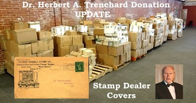 Trenchard Donation Update: Stamp Dealer Cover Collection