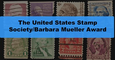 The United States Stamp Society/Barbara Mueller Award