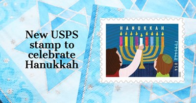 Holiday 2020: New USPS stamp to celebrate Hanukkah