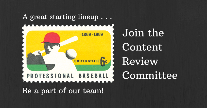 Editor's Notes: Join the Content Review Committee