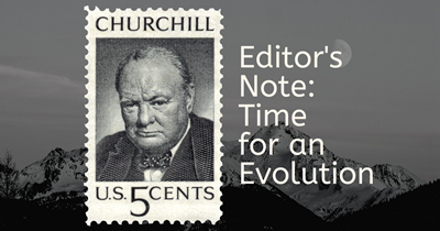 Editors Note: Time for an evolution