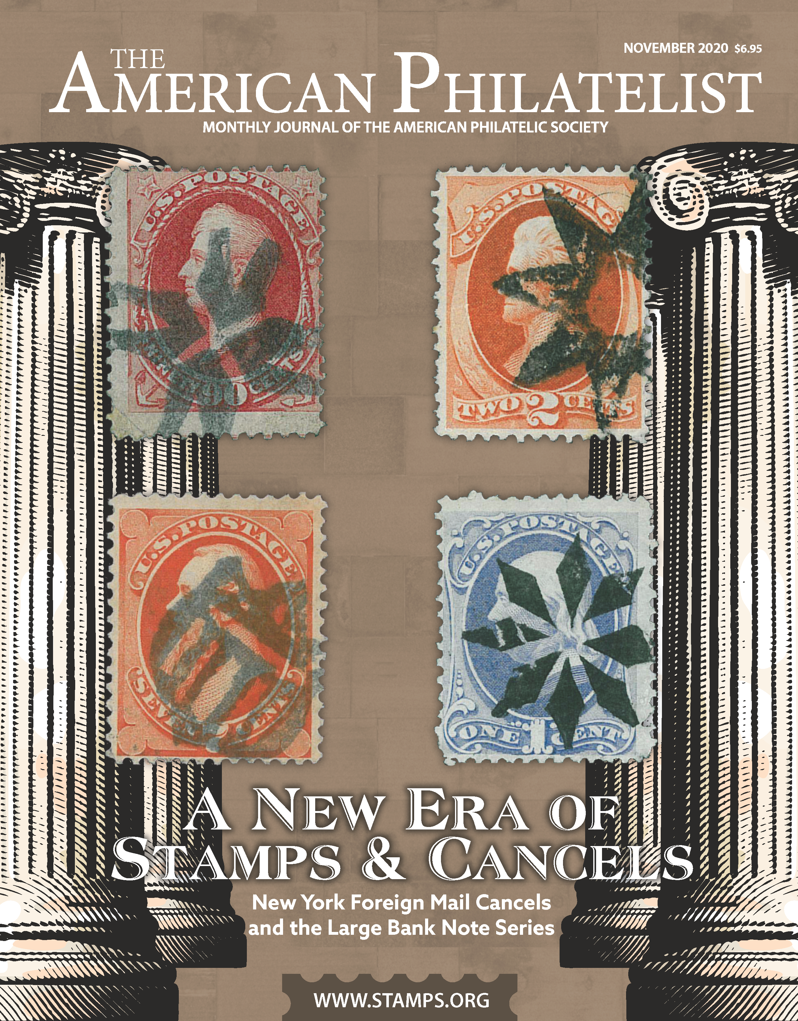 The American Philatelist - August 2020