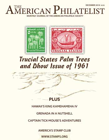 The American Philatelist - December 2018