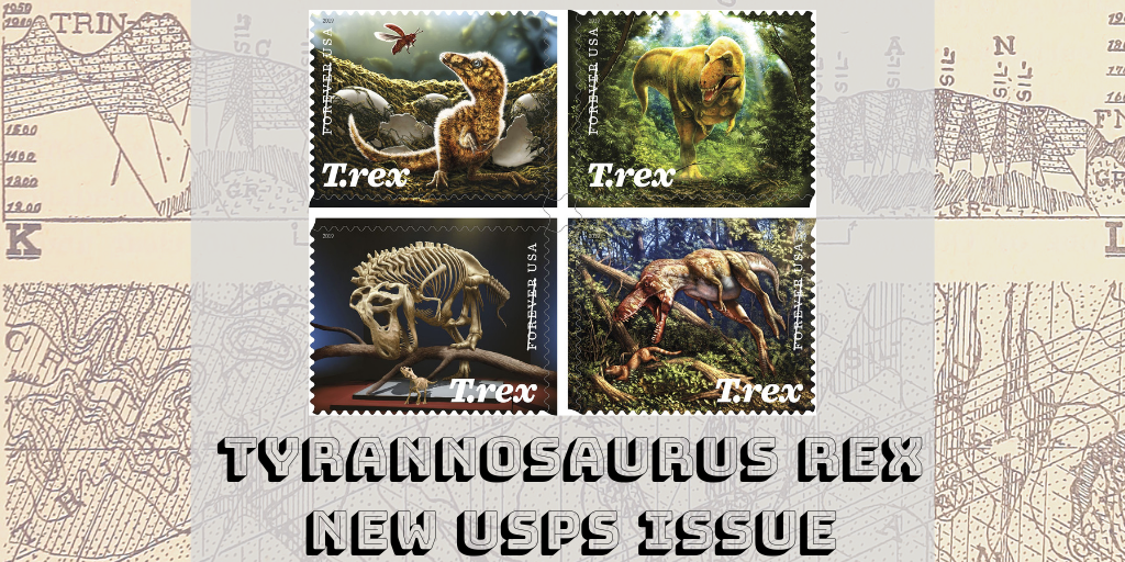 America's Favorite Dinosaur Lives Again on Upcoming USPS Stamps