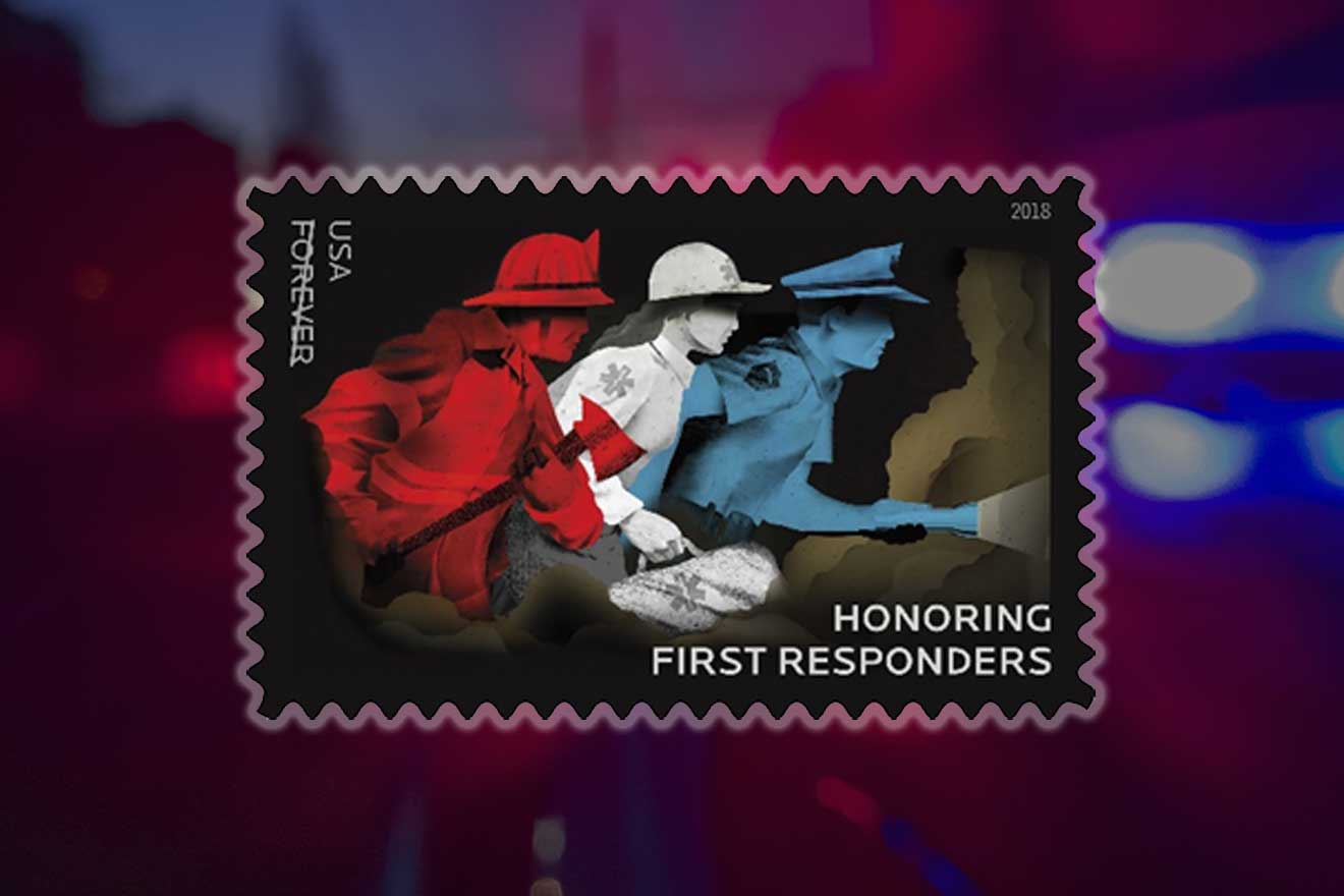 First Responders Stamp to be Dedicated