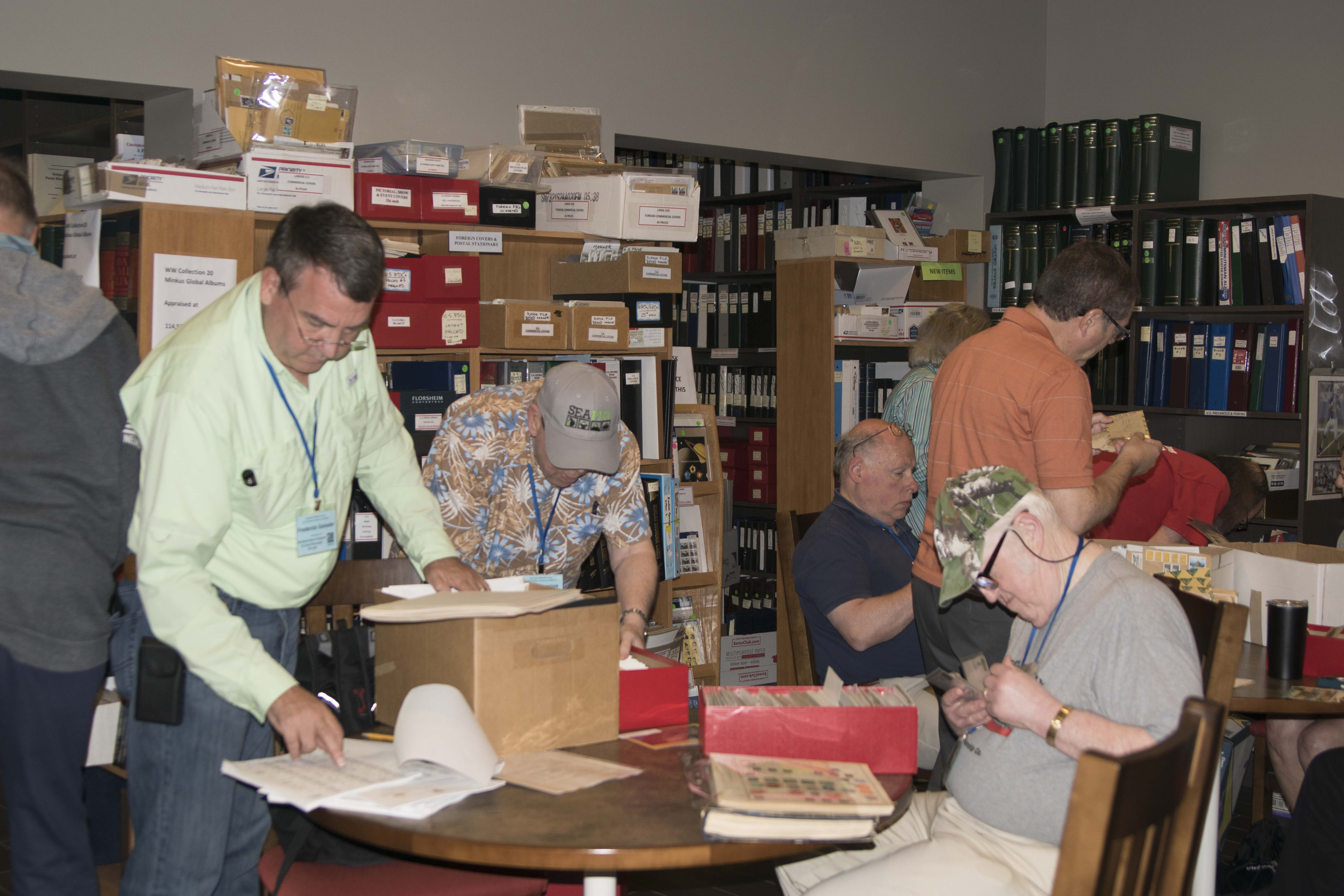 Our Story: A great summer at the American Philatelic Center
