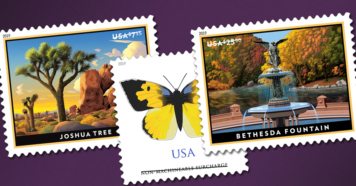 New Stamps For Rates Arriving January 27