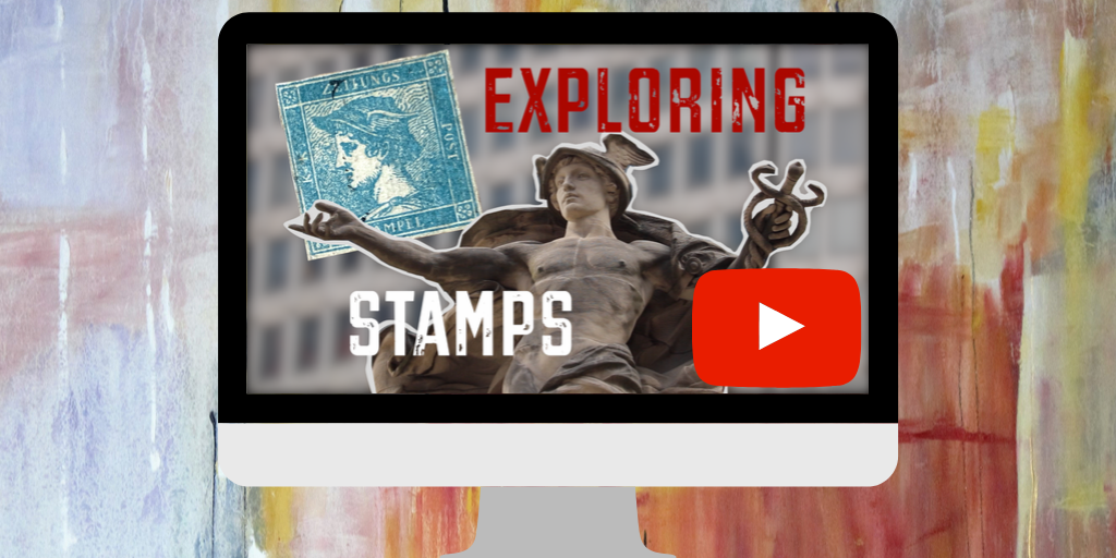 Explore an icon with Exploring Stamps: Mercury, god of messages and communication