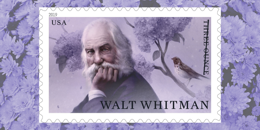 O Captain! My Captain! Upcoming USPS Issue Honors a Literary Giant