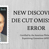 APS Experts Certify Omitted Die Cut Error Panes on Bush Stamp