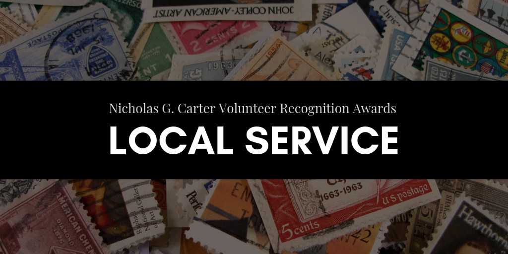 Volunteer Awards for Local Service Recognize Unsung Heroes of Philately