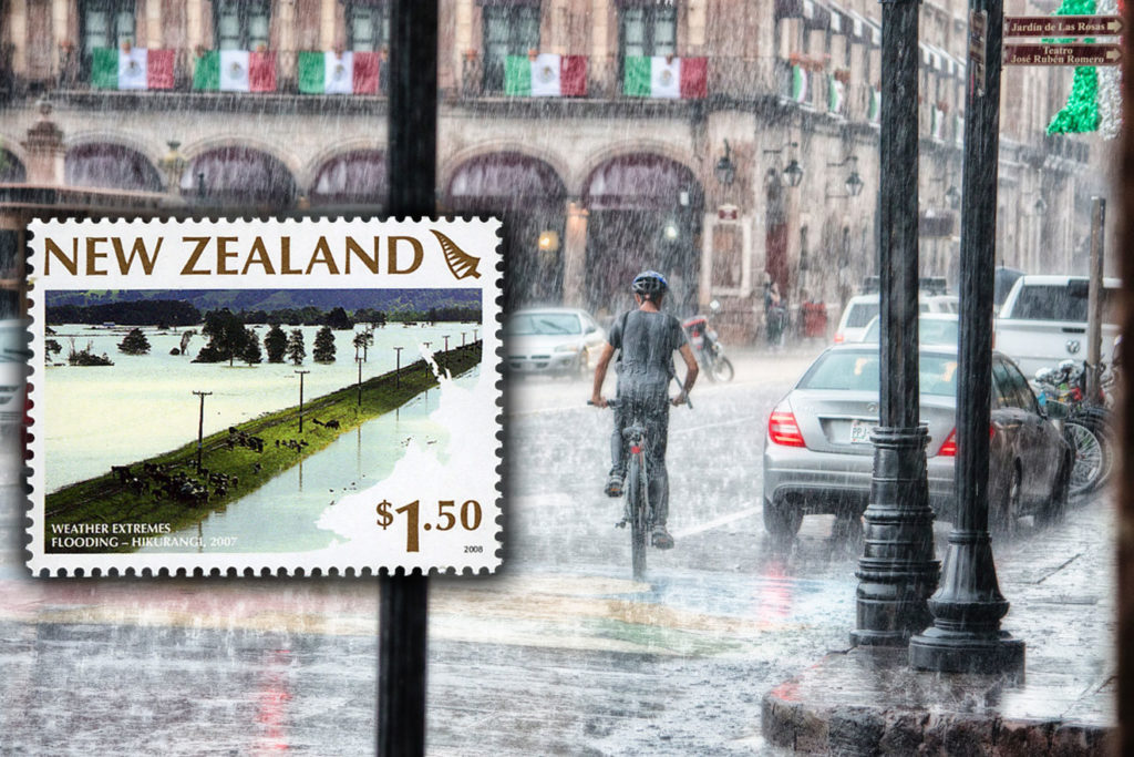 Postage Has Drawn Attention to Floods and Helped Victims