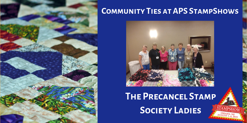 StampShow is a Chance to Make Community Ties for the Precancel Stamp Society Ladies