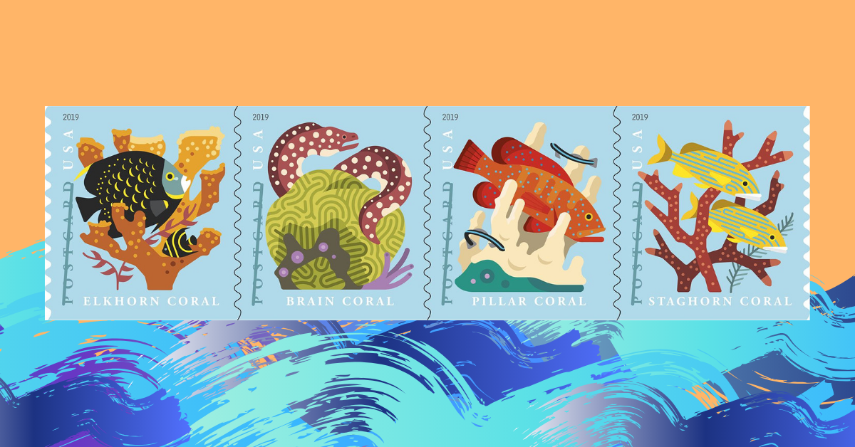 """Stamp-Show and Tell"""" from the ..."""