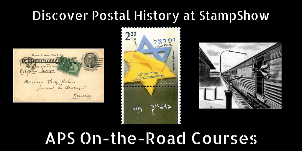 StampShow Seminars Promise Trains, Trans-Mississippis, and Holocaust Philately