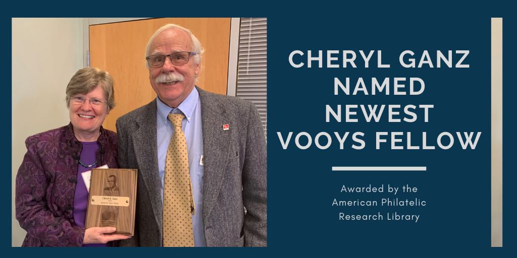 APS honors Cheryl Ganz as a Vooys Fellow