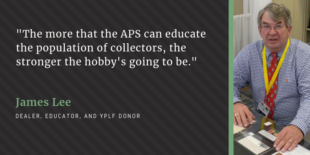 """It is my way of giving back"": Jim Lee on YPLF and creating opportunities for young philatelists"