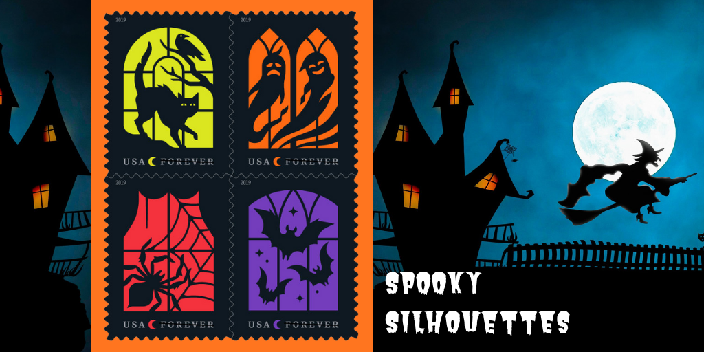 Spook-tacular stamps will send shivers down your spine this Halloween