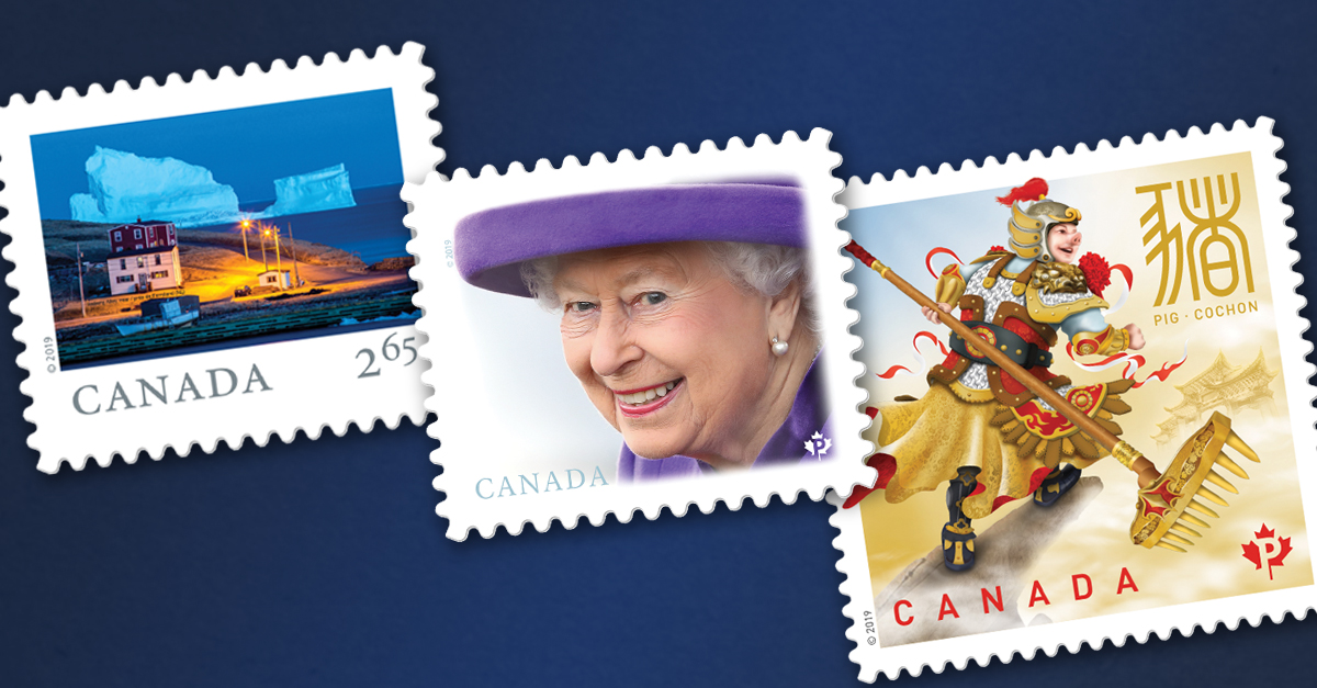 New 2019 Stamps from Canada Post