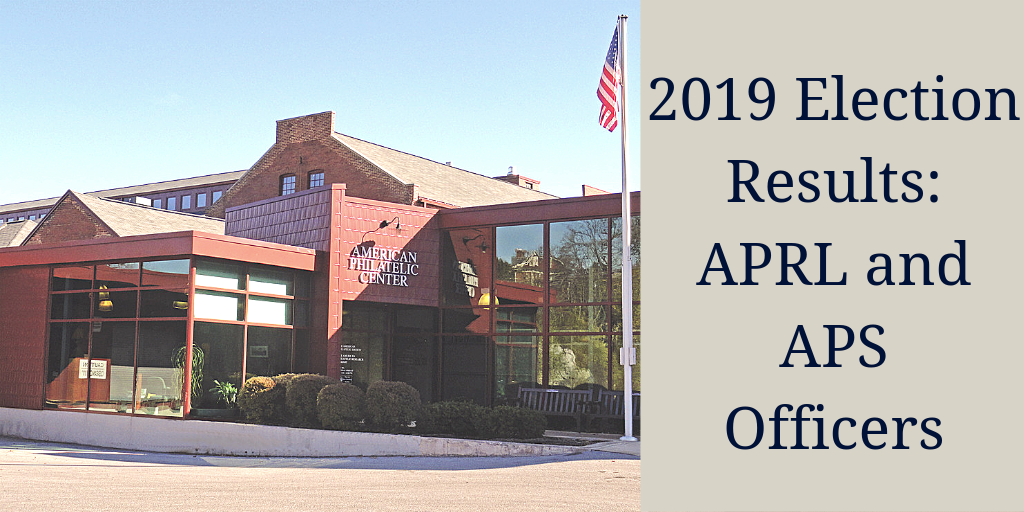 2019 APS and APRL Officers Election Results Announced Today