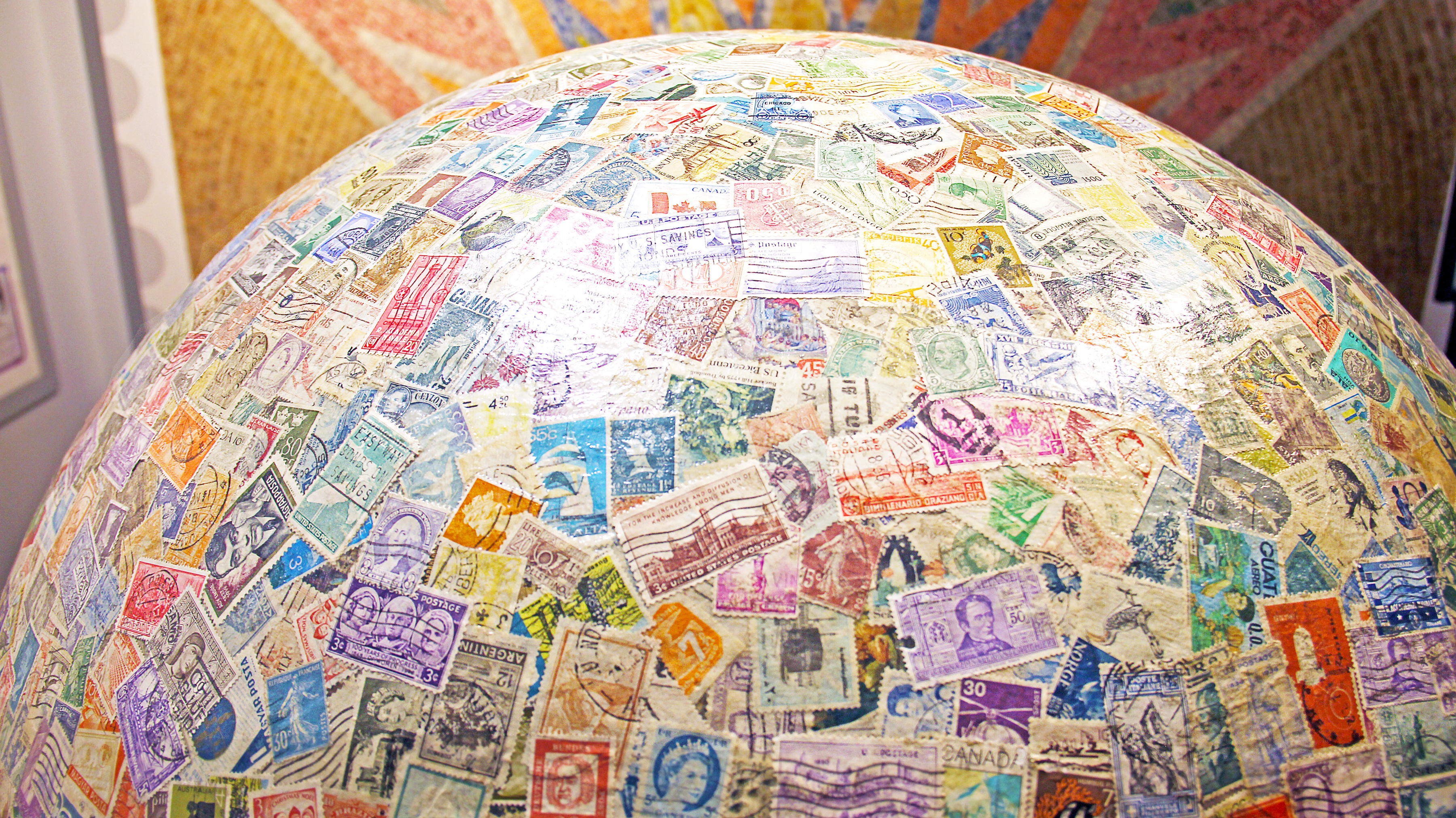 What About It?: The World's Largest Stamp Ball