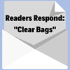 Special offer from Clear Bags just for stamp collectors, and your comments considered