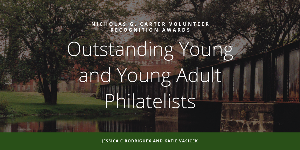 2019 Volunteer Awards Recognize Outstanding Young and Young Adult Philatelists