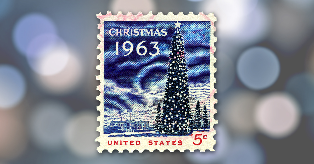 Lily Spandorf and the 1963 Christmas Stamp
