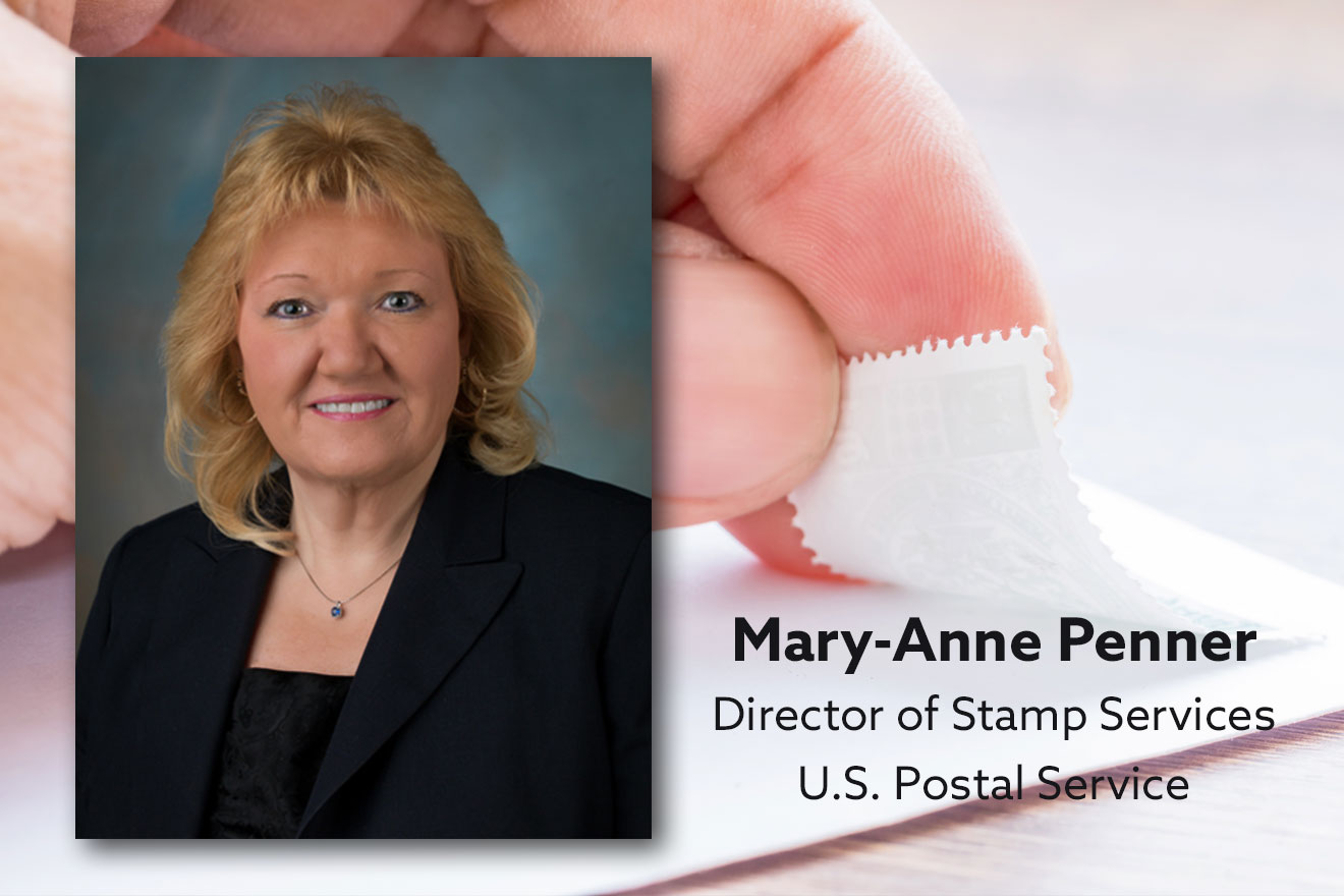 The Woman Who Runs Stamp Services