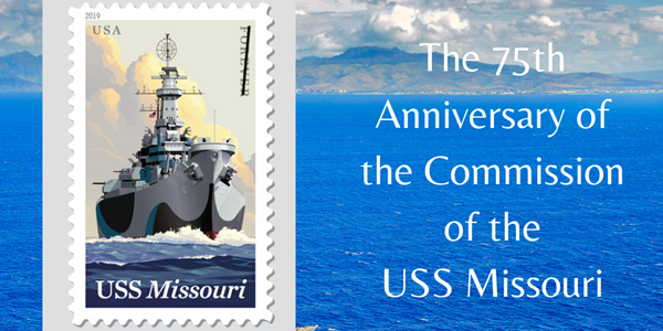 "US Postal Service Honors the Story of ""Mighty Mo"" - the USS Missouri Battleship"
